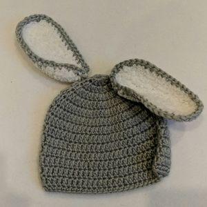 So dorable bunny hat